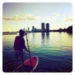 What's SUP? Stand-Up Paddleboarding!
