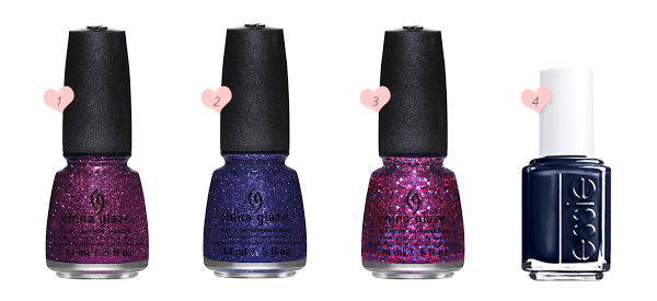 China Glaze & Essie Polishes