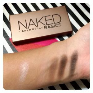 Naked Basics Palette Swatches