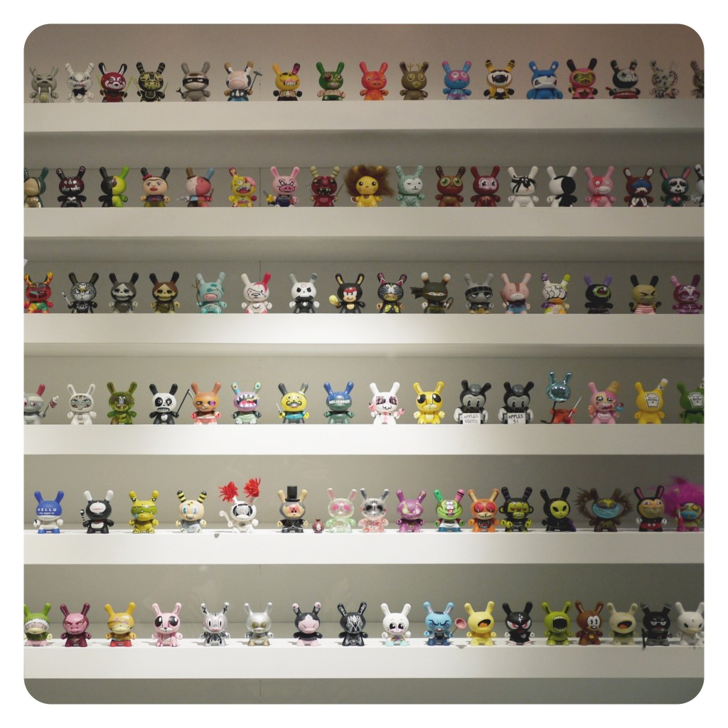 This Is Not A Toy: The Dunny Wall